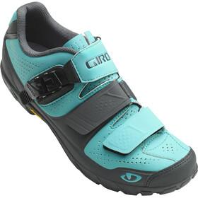 Giro Terradura kengät Naiset, glacier/dark shadow